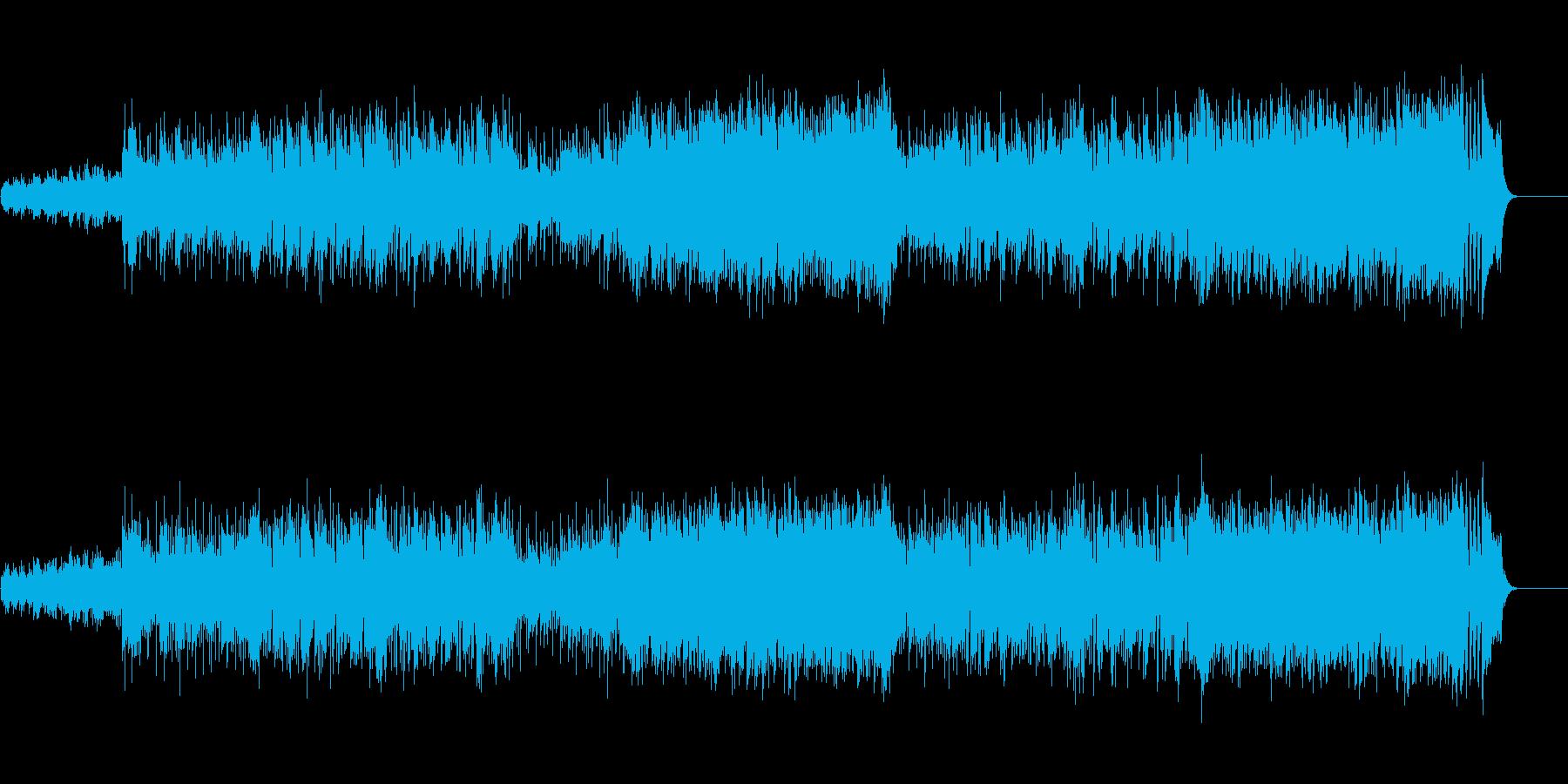 ポップ/ロック(はつらつ路線)の再生済みの波形