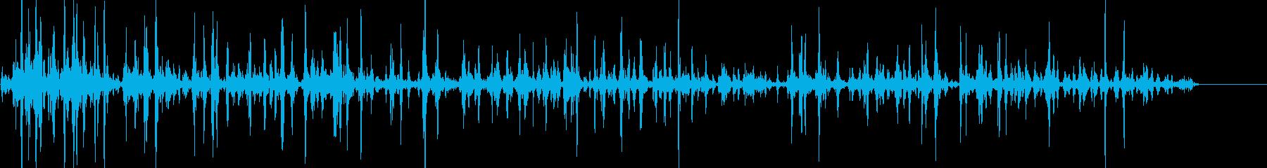 ぶくぶく02の再生済みの波形