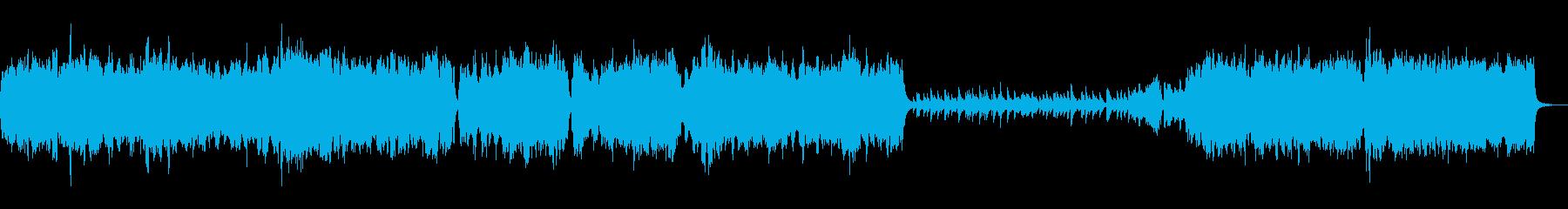 入場などに最適なバロック風クラシックの再生済みの波形