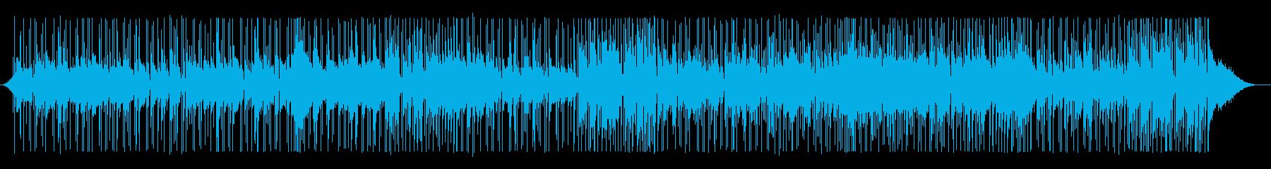 温かい感じのガットギター・フュージョンの再生済みの波形