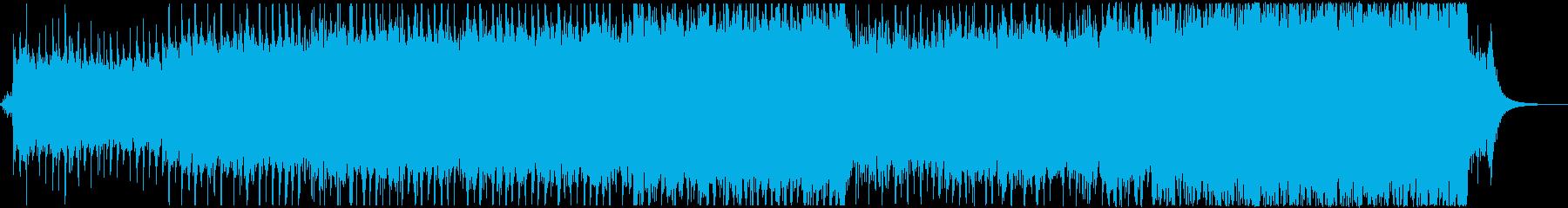 優しく華やかなクリスマスBGMの再生済みの波形