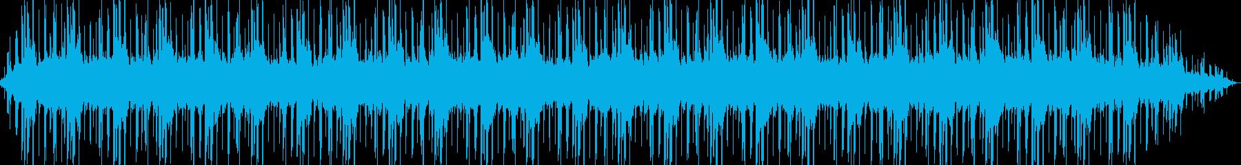 ゲームオプション画面 休憩 考え中の再生済みの波形