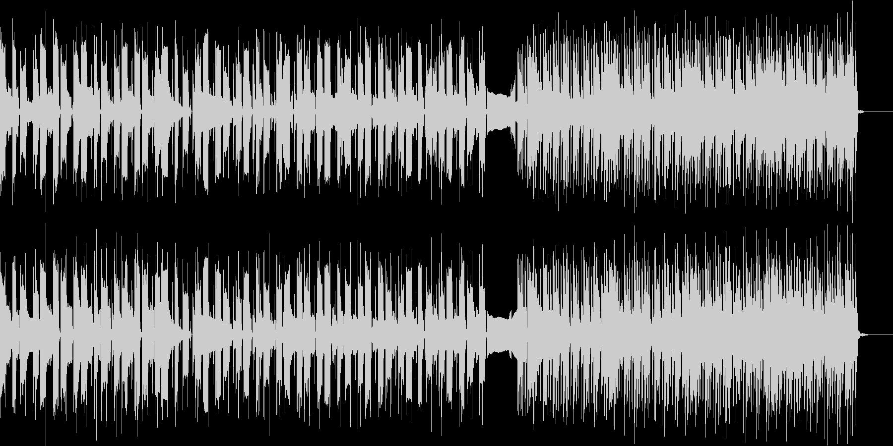 ワイルドなイメージのギターインスト曲ですの未再生の波形