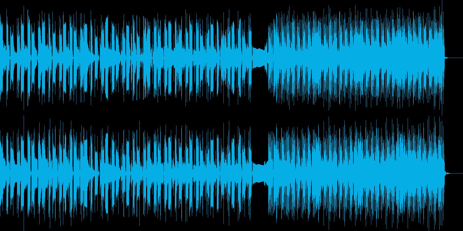 ワイルドなイメージのギターインスト曲ですの再生済みの波形