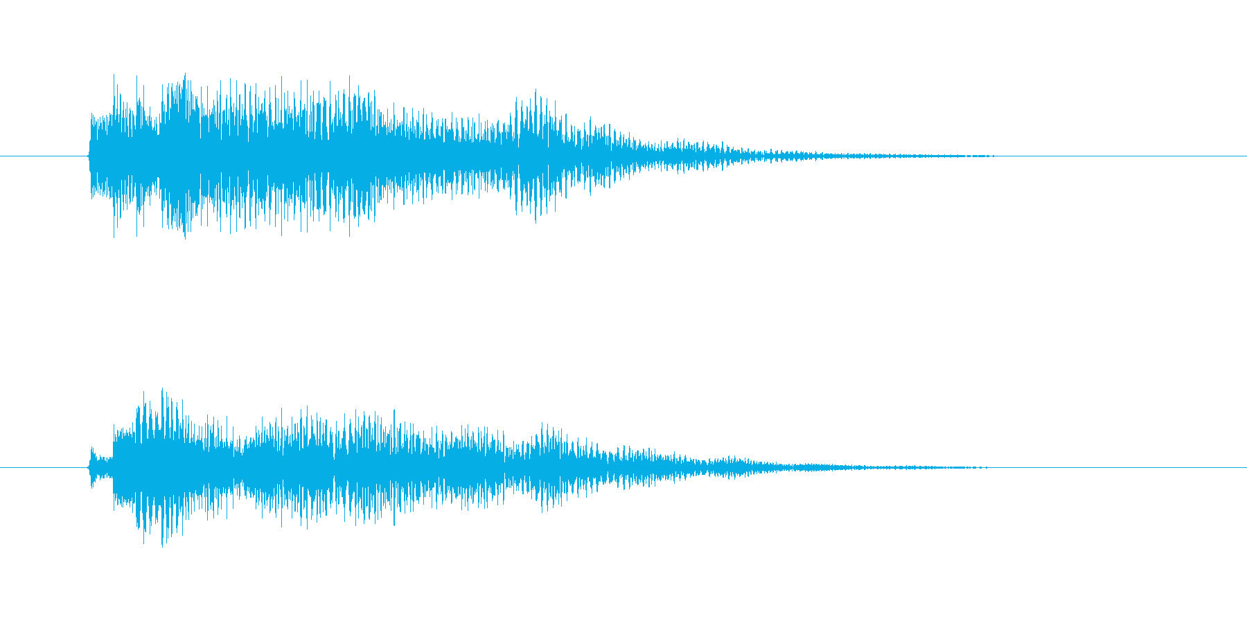 ポロロン(透明感、爽やか)の再生済みの波形