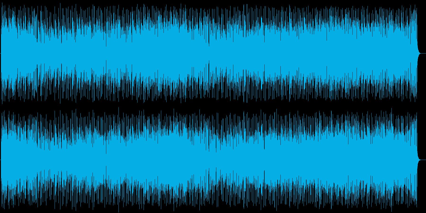 爽やかで軽快なファンファーレポップスの再生済みの波形