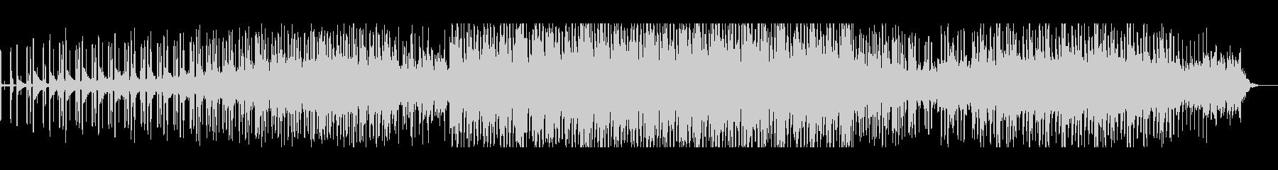 重厚でスローテンポなエレクトロニカの未再生の波形