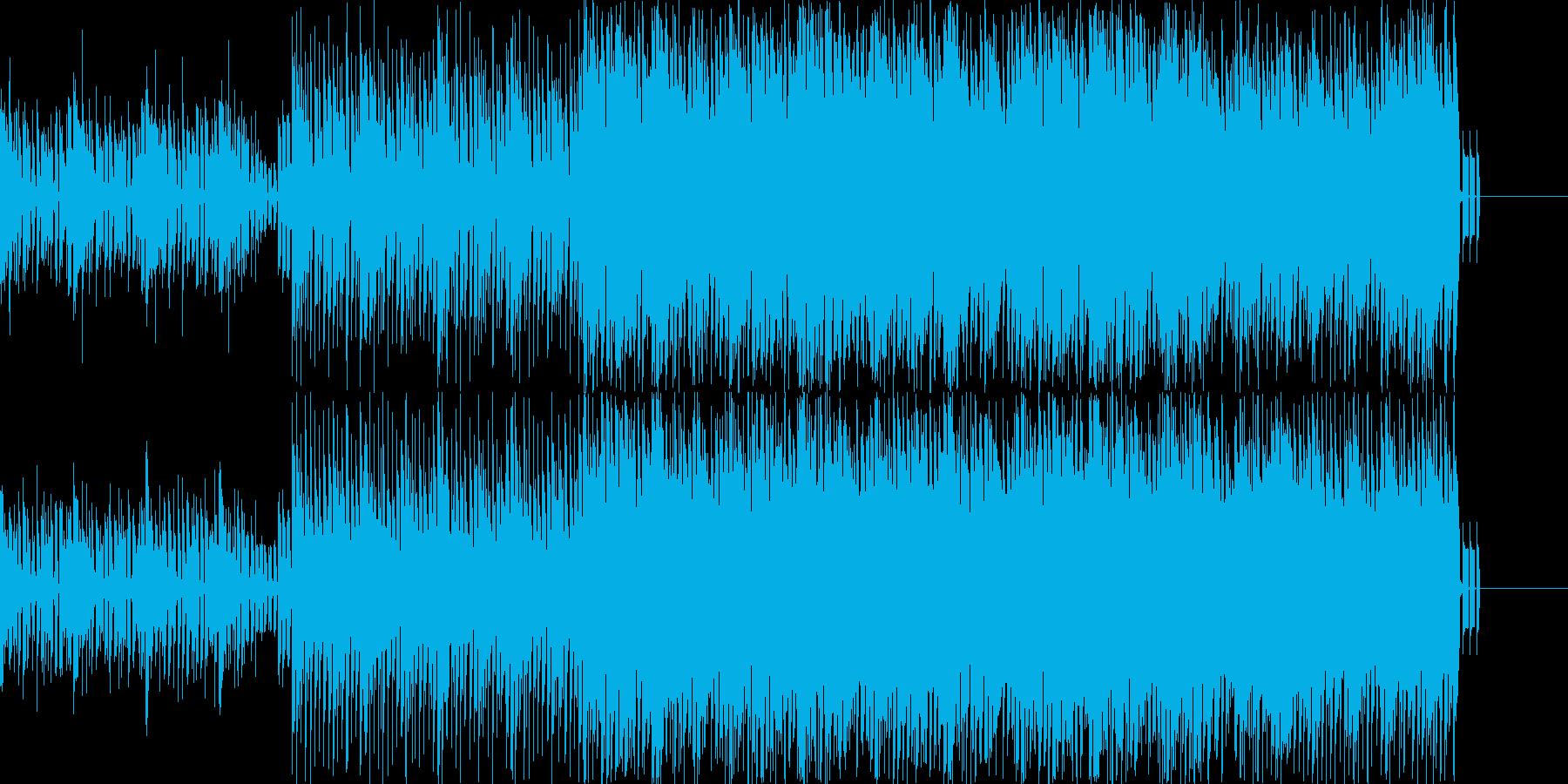 ビート感のあるシンセリードの雅楽ポップスの再生済みの波形