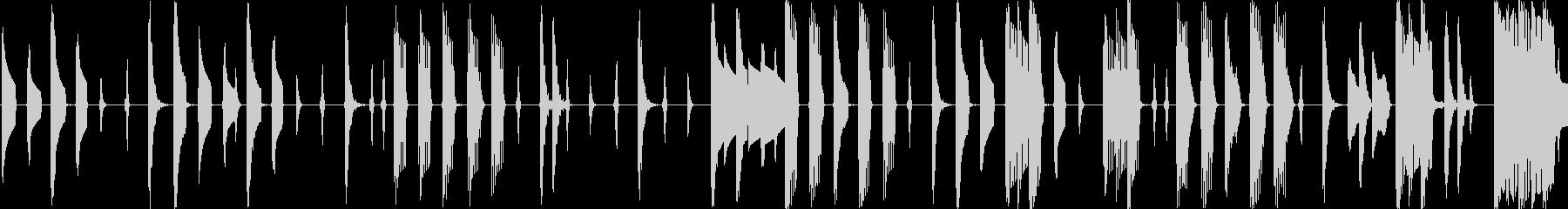 レトロゲーム風の可愛らしいエレクトロニカの未再生の波形