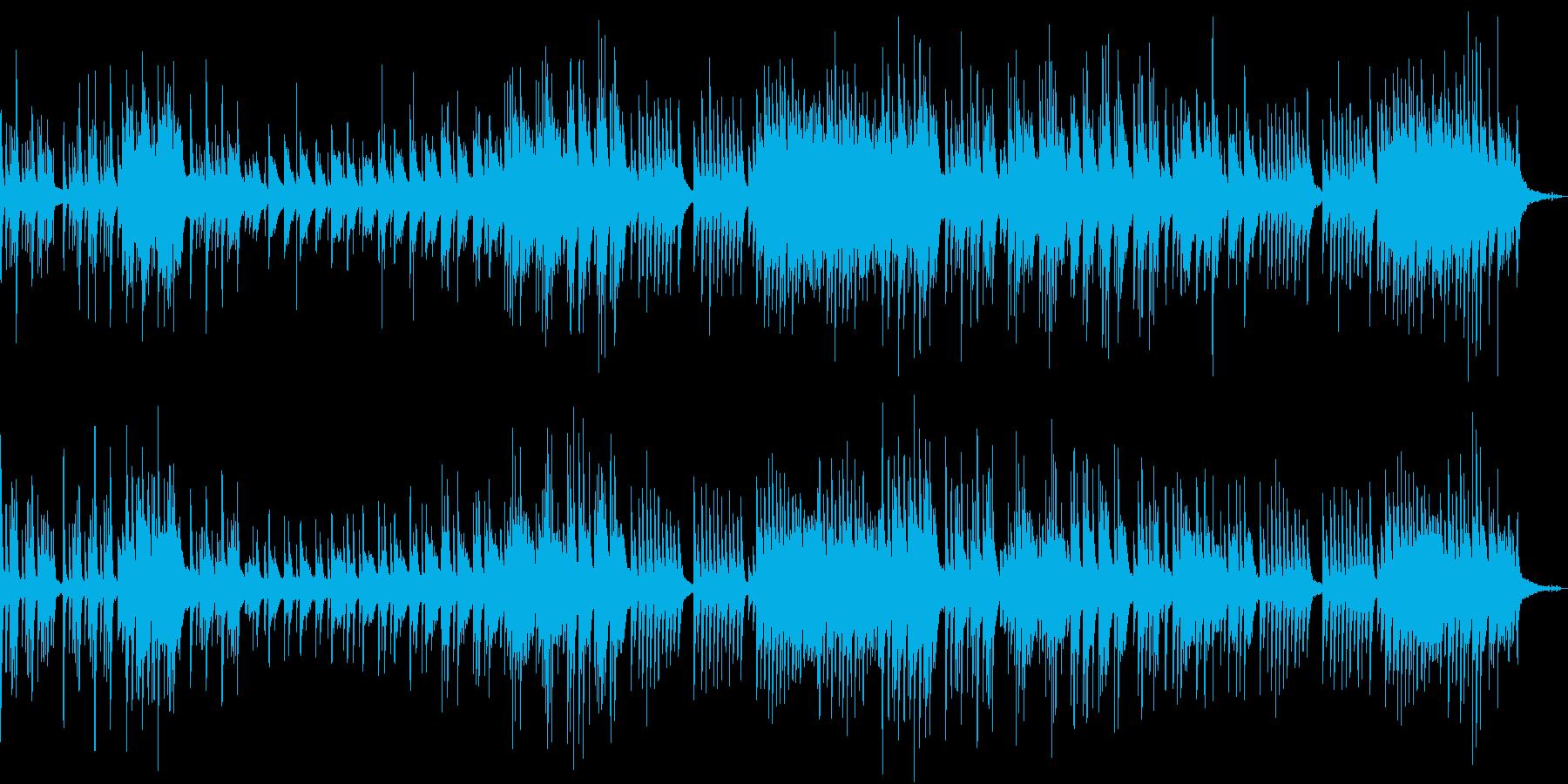 せつないピアノの再生済みの波形
