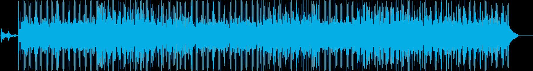 夏のリゾートで流れていそうなピアノ曲の再生済みの波形