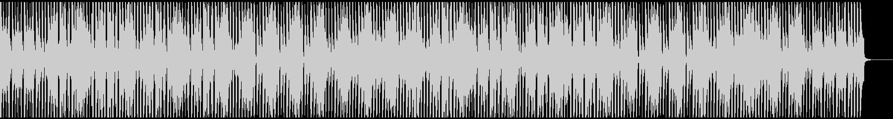 ウクレレと口笛のコミカルで楽しいBGMの未再生の波形