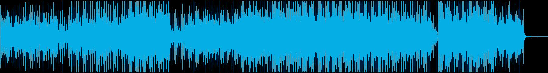 企業VPや映像に かわいい系の優しい音の再生済みの波形