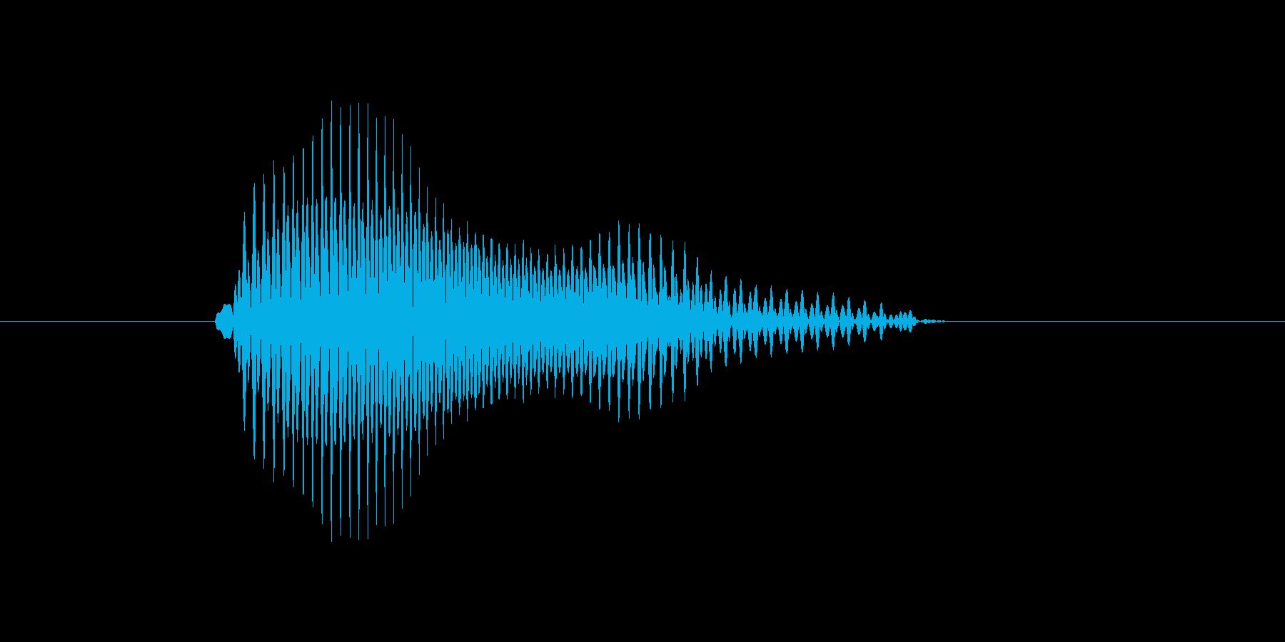 b,B,B(ビー)の再生済みの波形