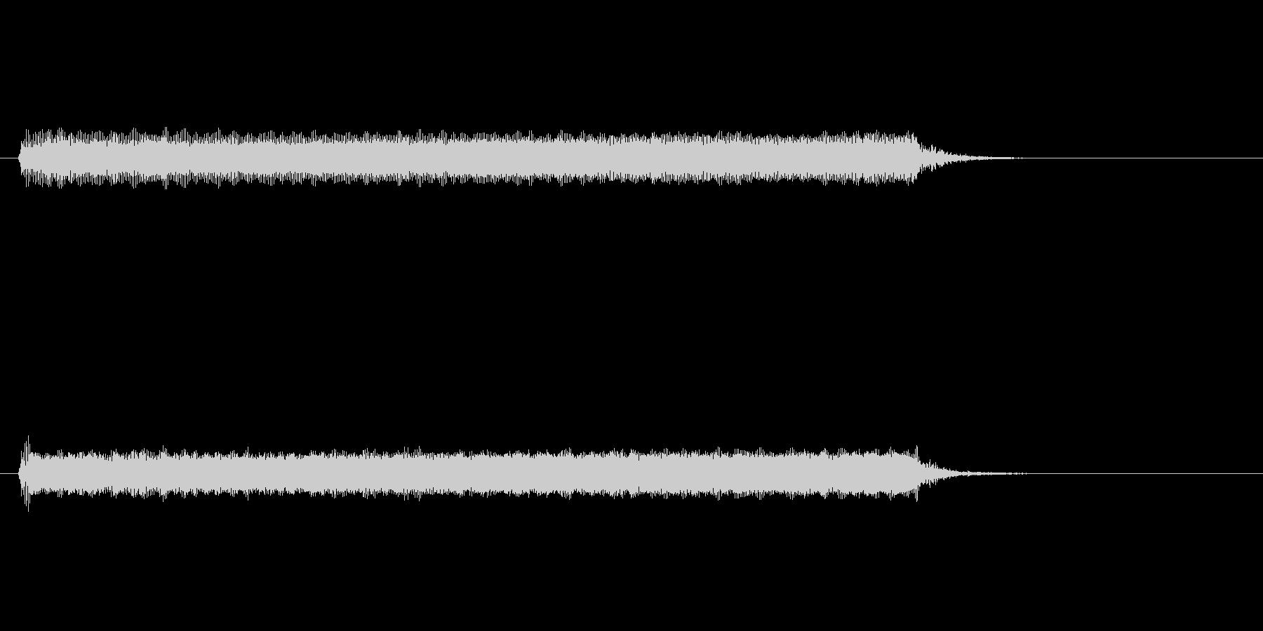 【開演ブザー02-3】の未再生の波形
