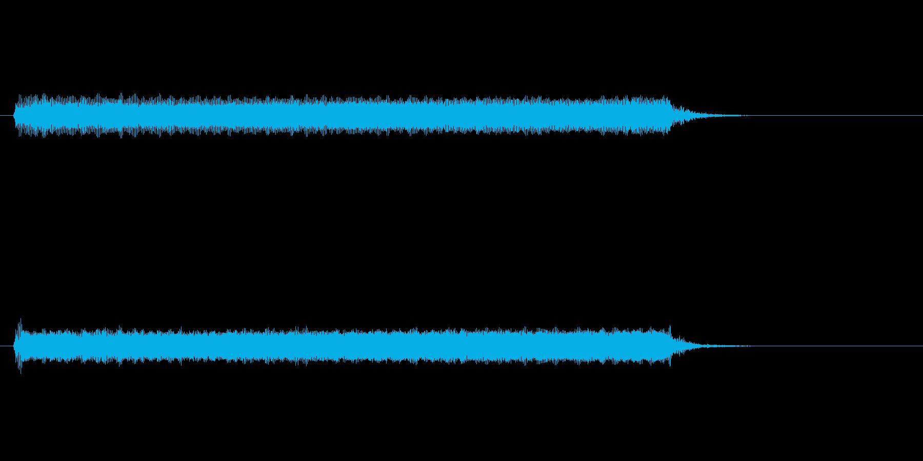 【開演ブザー02-3】の再生済みの波形