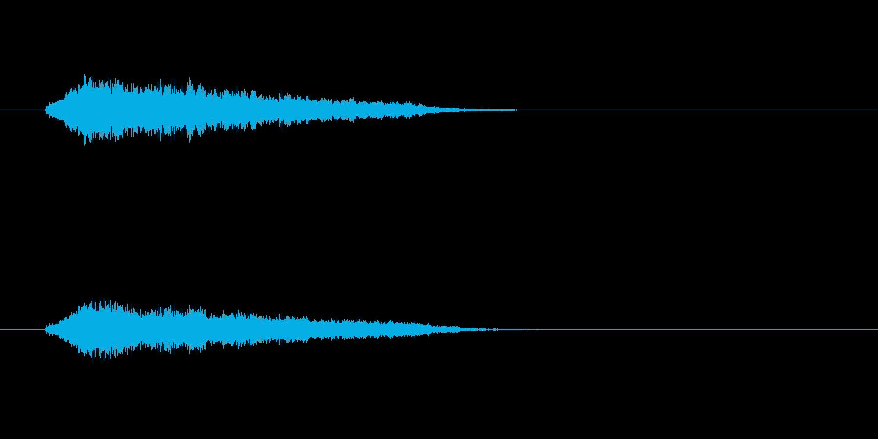 ジングル(SE系)の再生済みの波形