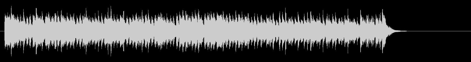 爽やかなミディアムポップ(サビ~エンド)の未再生の波形