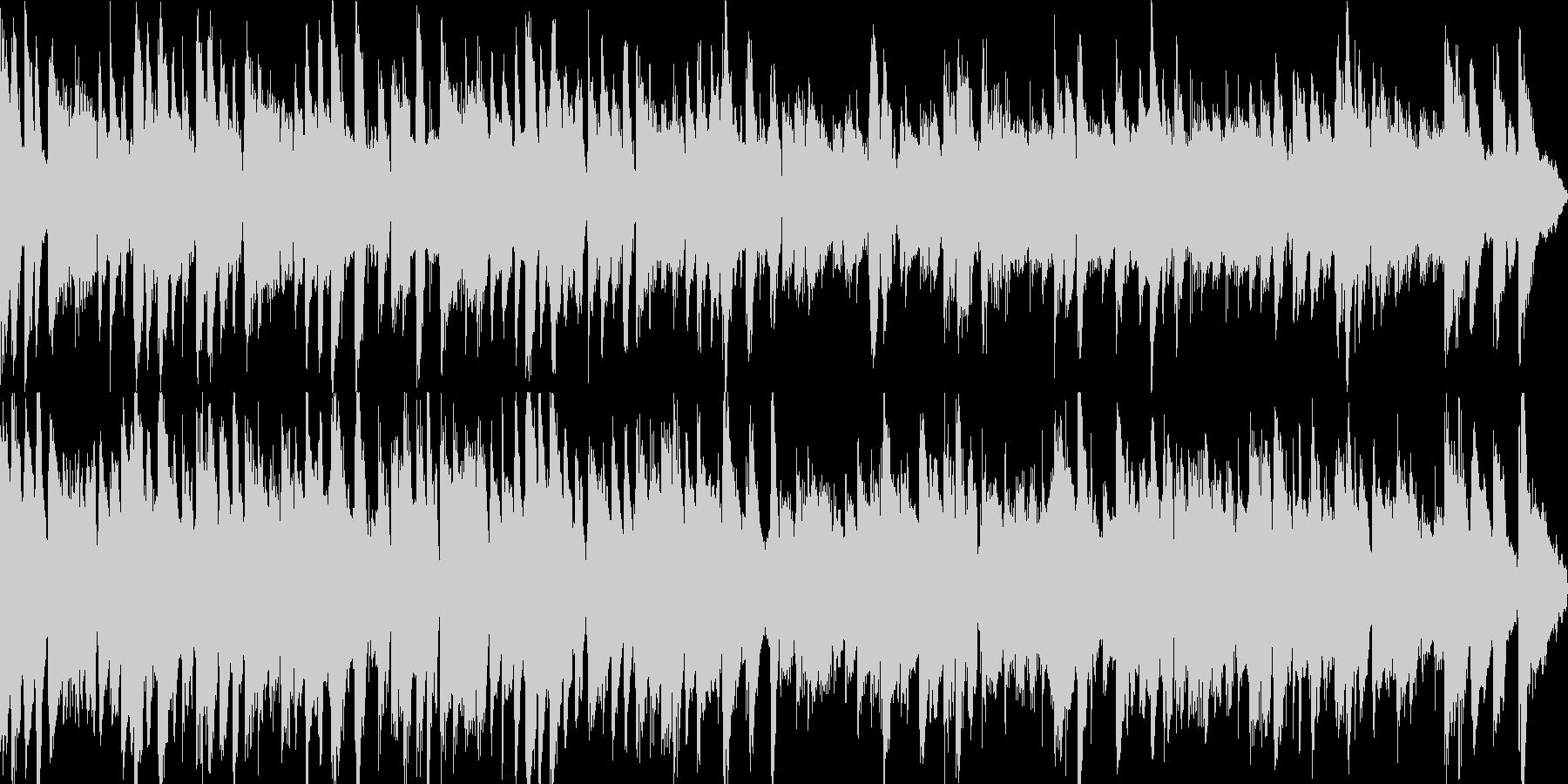 ガットギターによる優しいインスト曲の未再生の波形