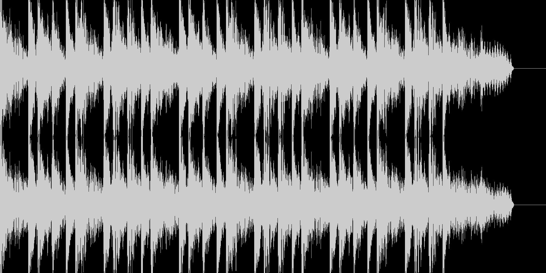 ジャズテイストでおしゃれなBGMの未再生の波形