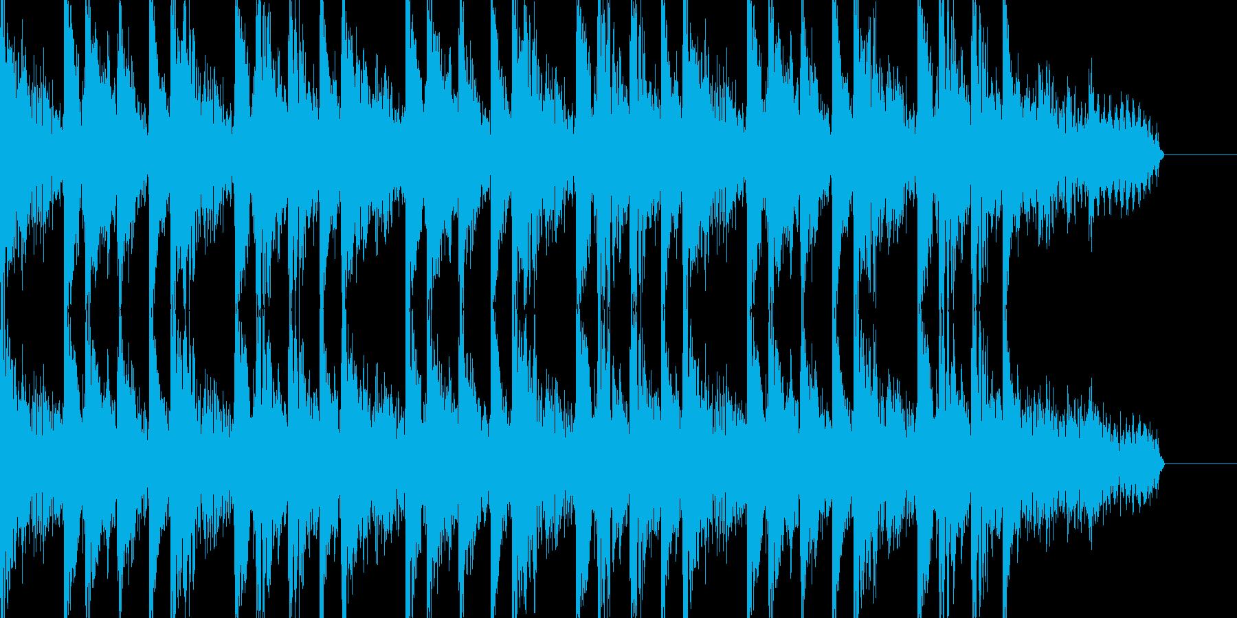 ジャズテイストでおしゃれなBGMの再生済みの波形