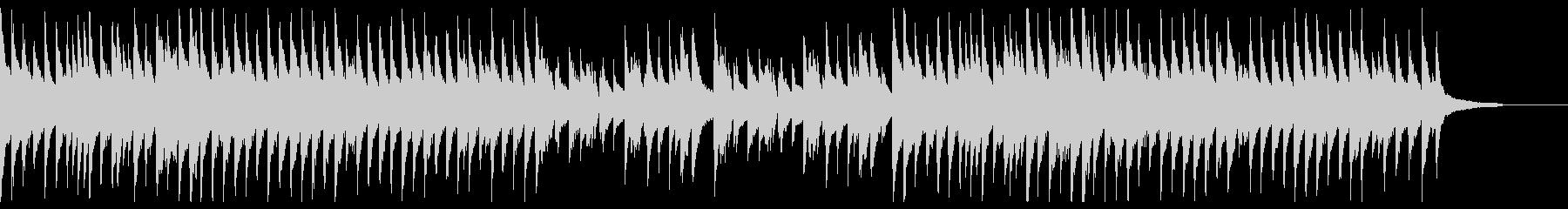 アンニュイなジャズ風のピアノの未再生の波形