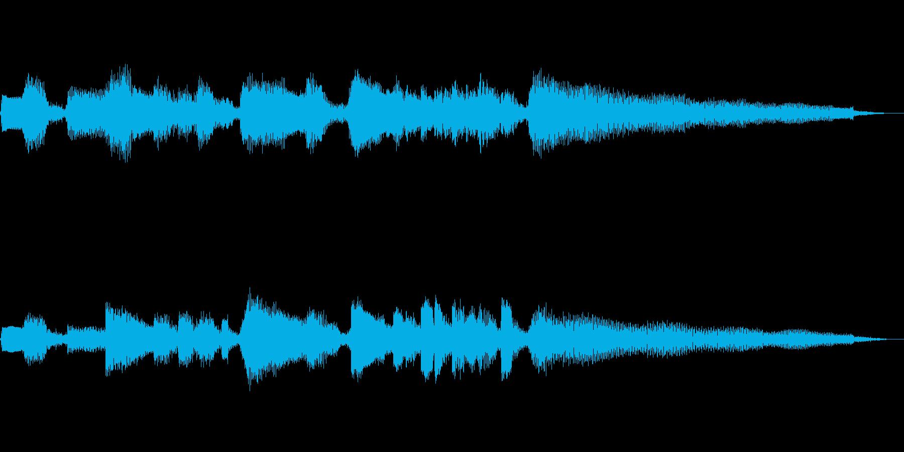 【12秒】ジャズギターのコードとソロの再生済みの波形