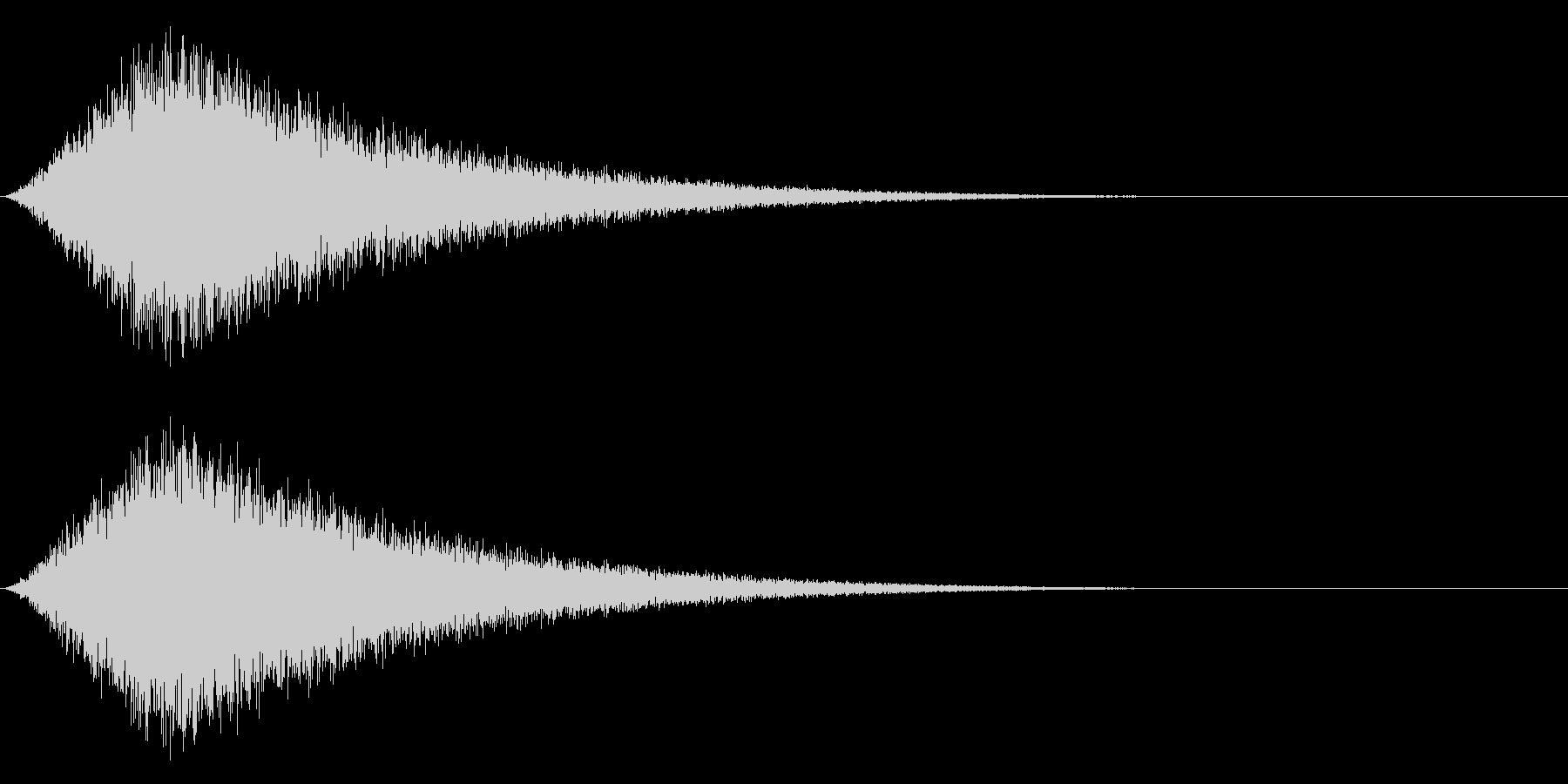Noise 攻撃をかわす・逃げるSFXの未再生の波形