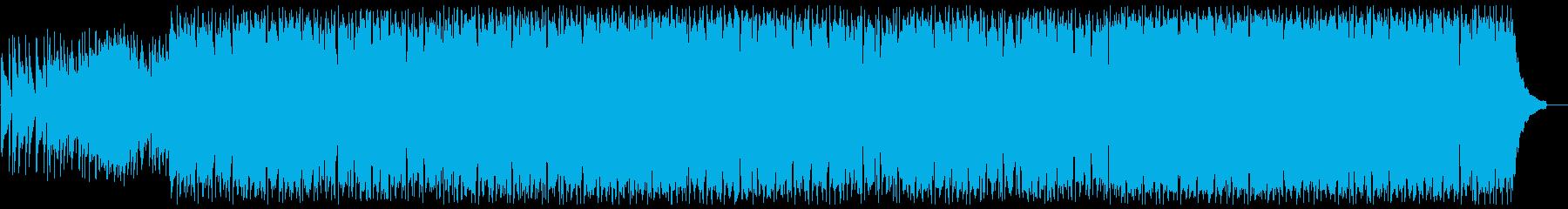 ピアノの伴奏が印象的な爽やかポップスの再生済みの波形