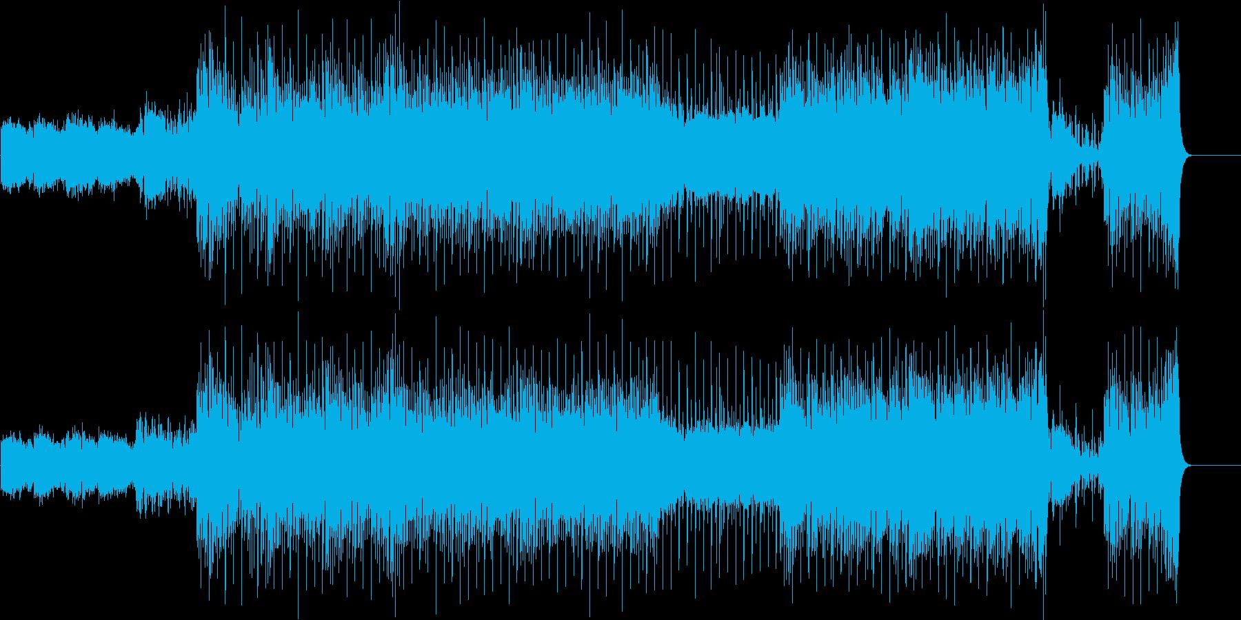 ジャジーなムードのトレンディー・サウンドの再生済みの波形