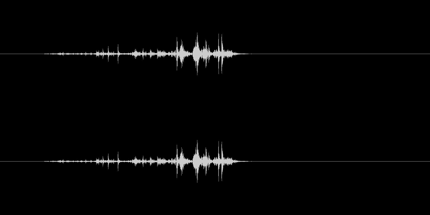 【雑誌01-5(パラパラ)】の未再生の波形