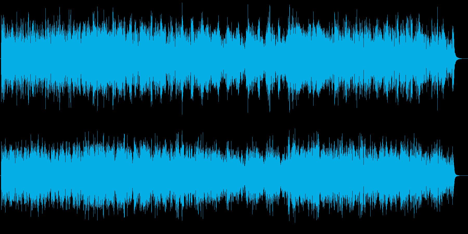 幻想的で怪しげな雰囲気のポップスの再生済みの波形