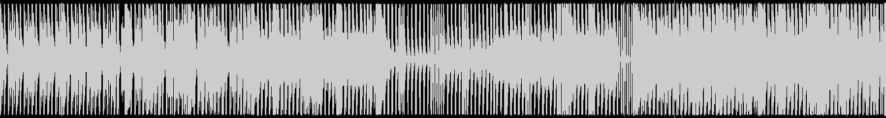 ループ,シリアス,アブノーマルBGMの未再生の波形