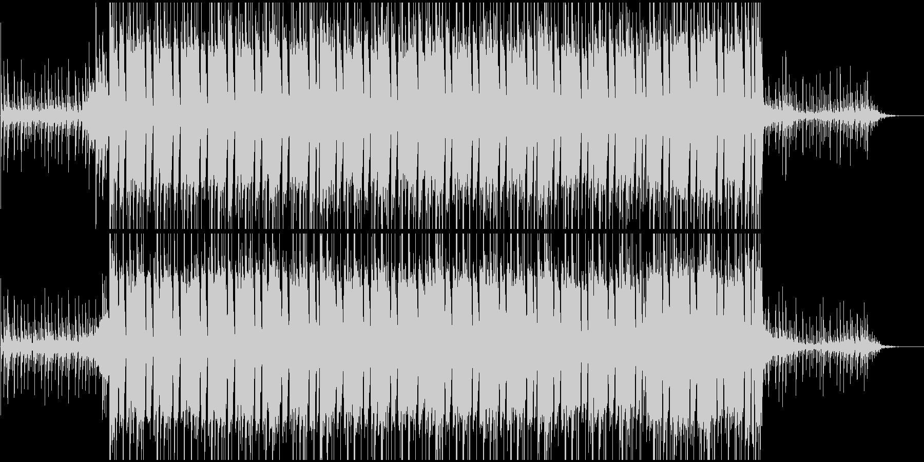 フラット〜明るめの場面用BGMの未再生の波形