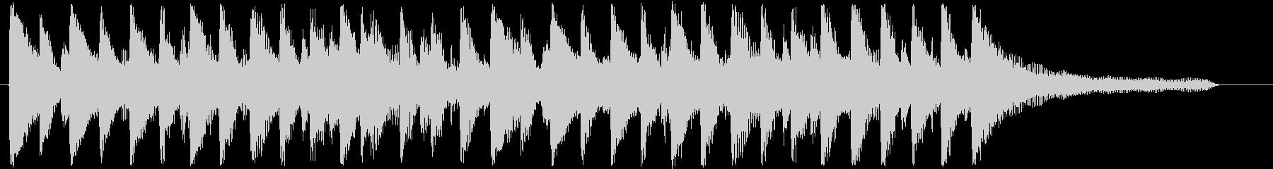 流行の爽やかなコーポレート系サウンド♪の未再生の波形