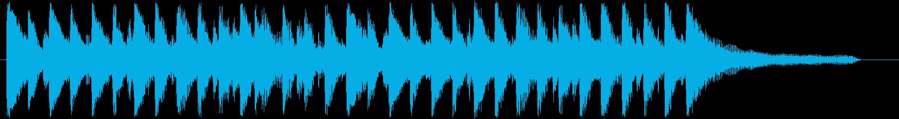 流行の爽やかなコーポレート系サウンド♪の再生済みの波形