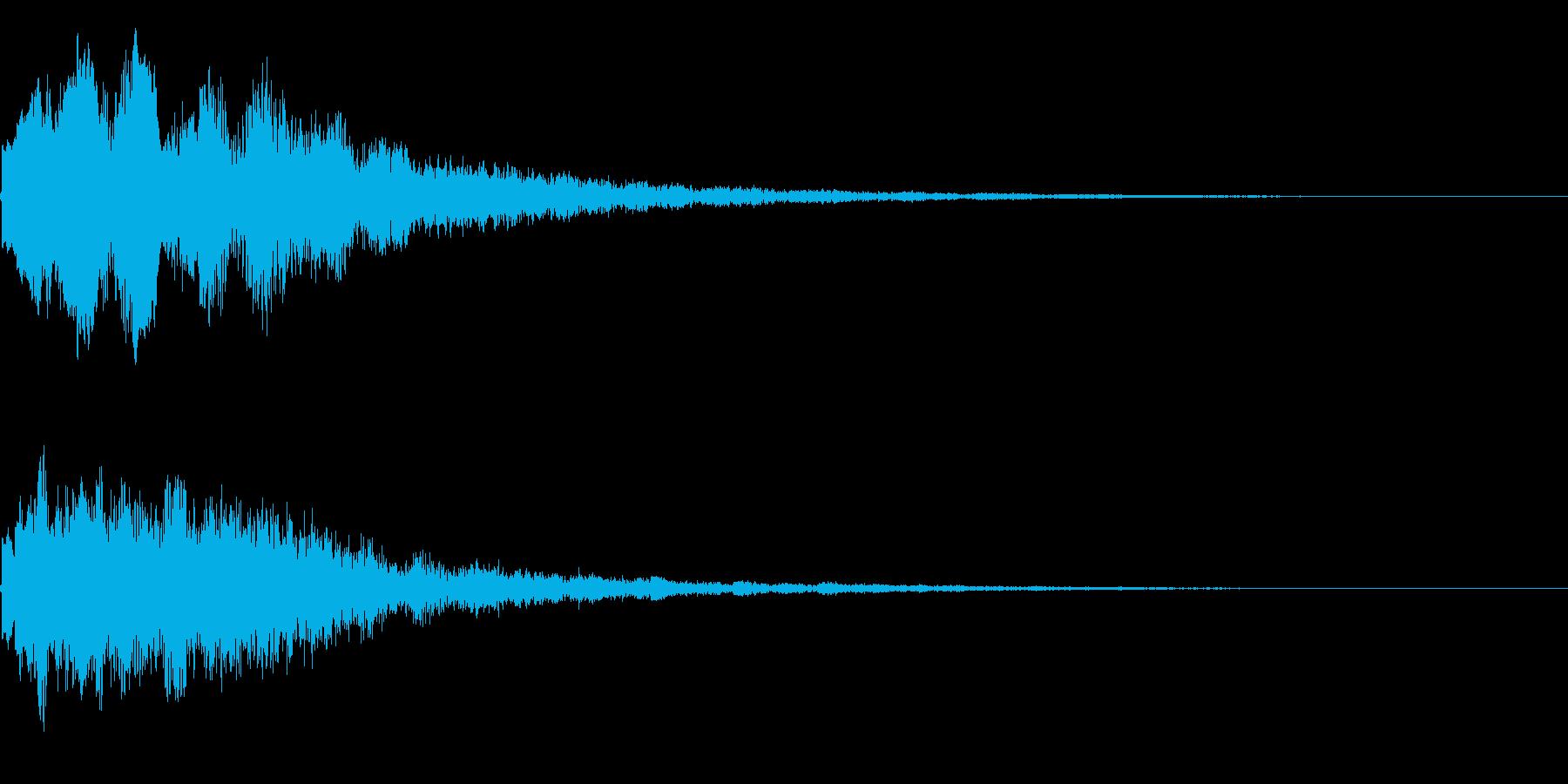 キラーン(星、光、魔法、テロップ等)3cの再生済みの波形