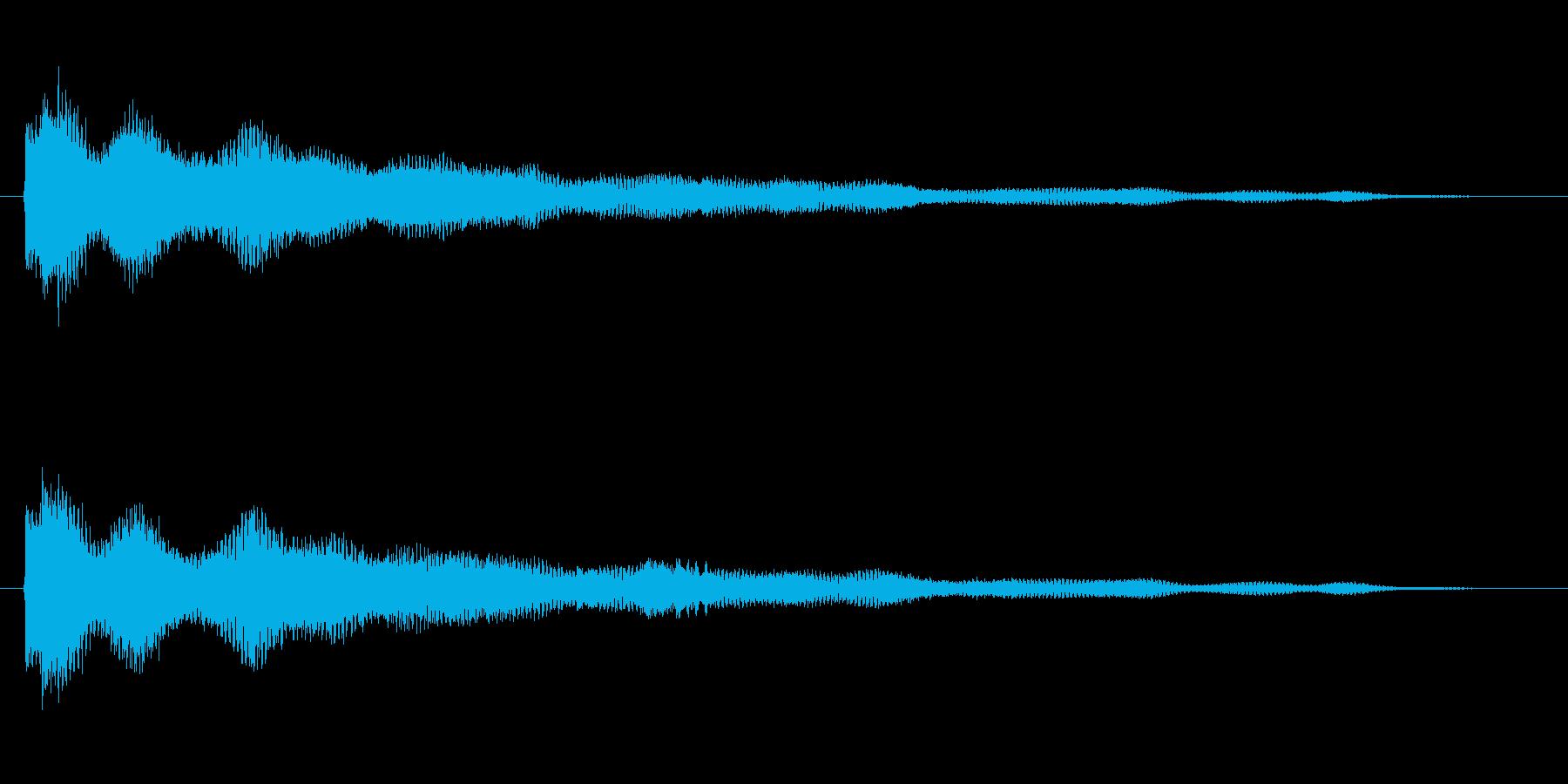 擬音【らりらん〜ぽわぽわ】【エンコード…の再生済みの波形