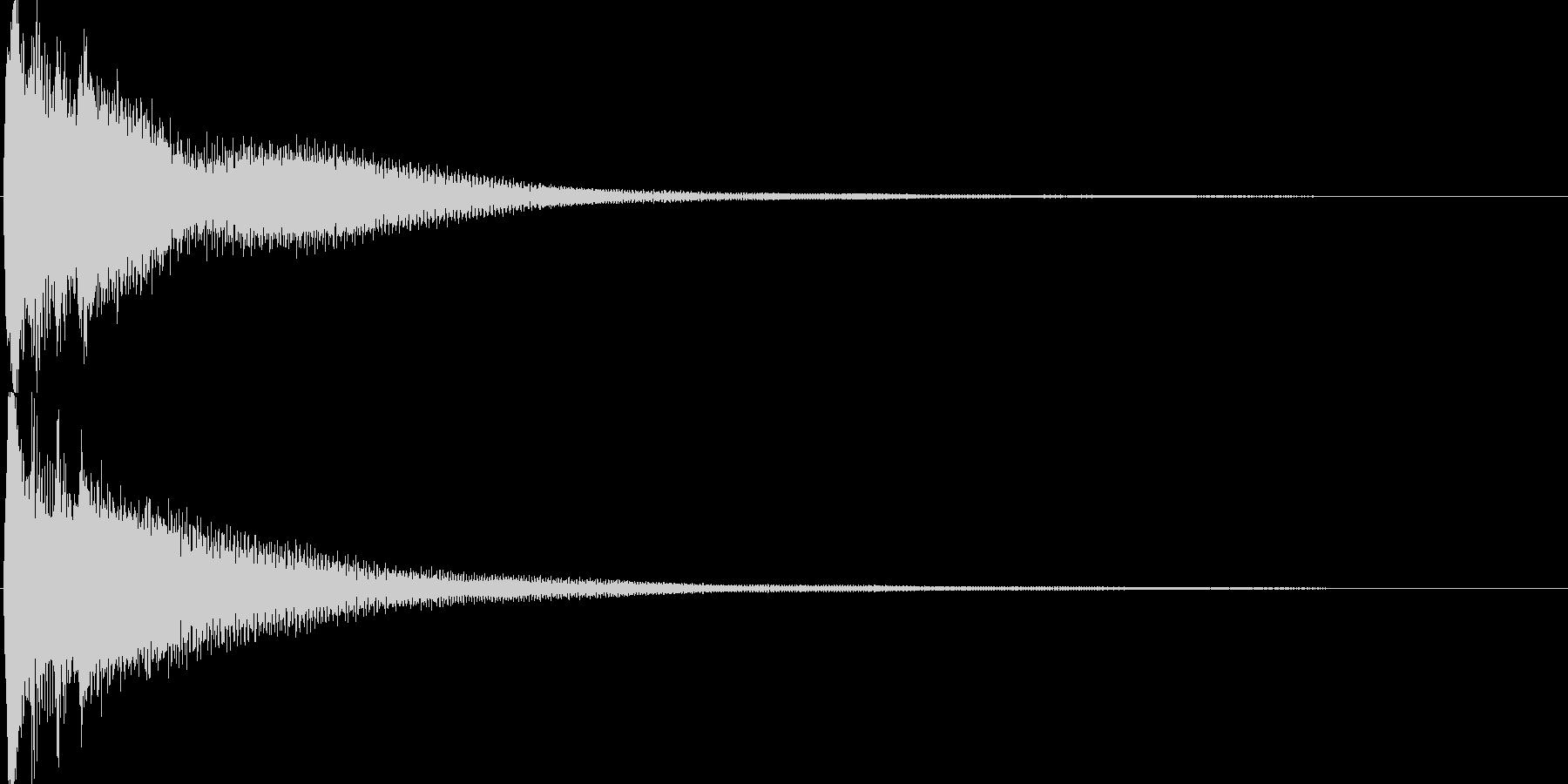 ゲーム(レアアイテム入手、決定音)などの未再生の波形