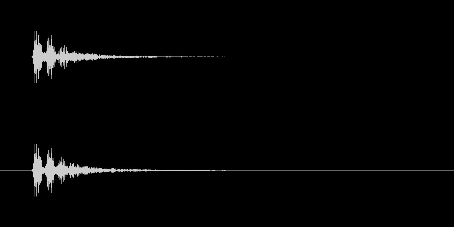 【サイバー18-1】の未再生の波形
