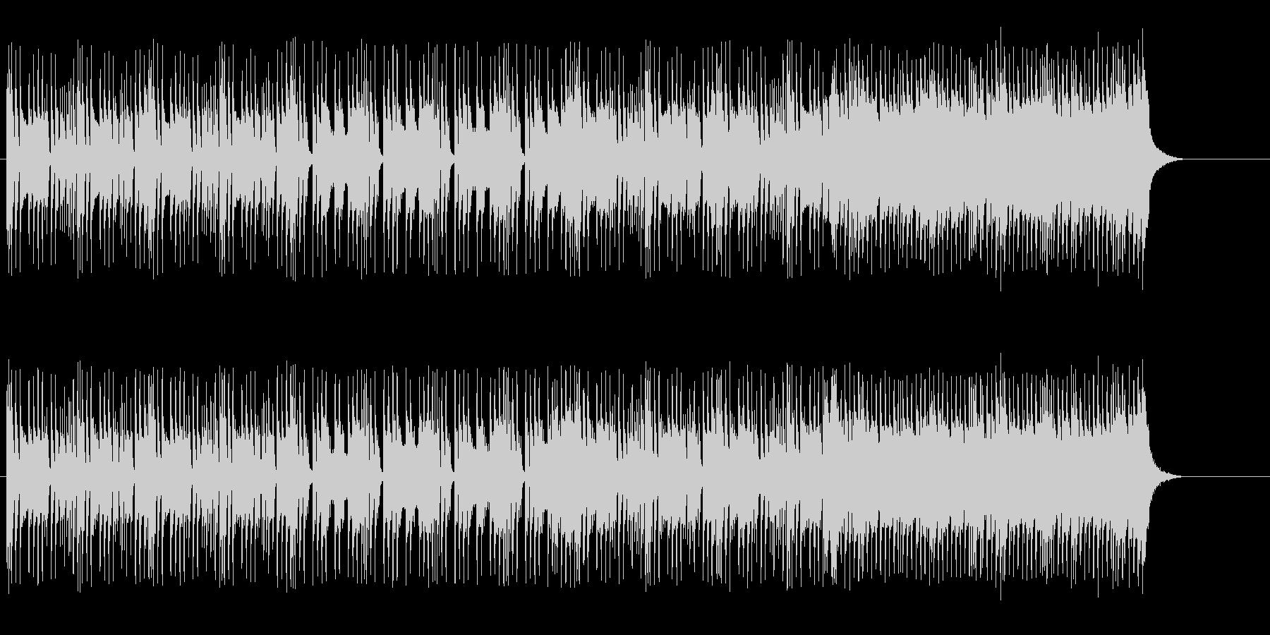 エレクトリックでスマートなポップ/ロックの未再生の波形