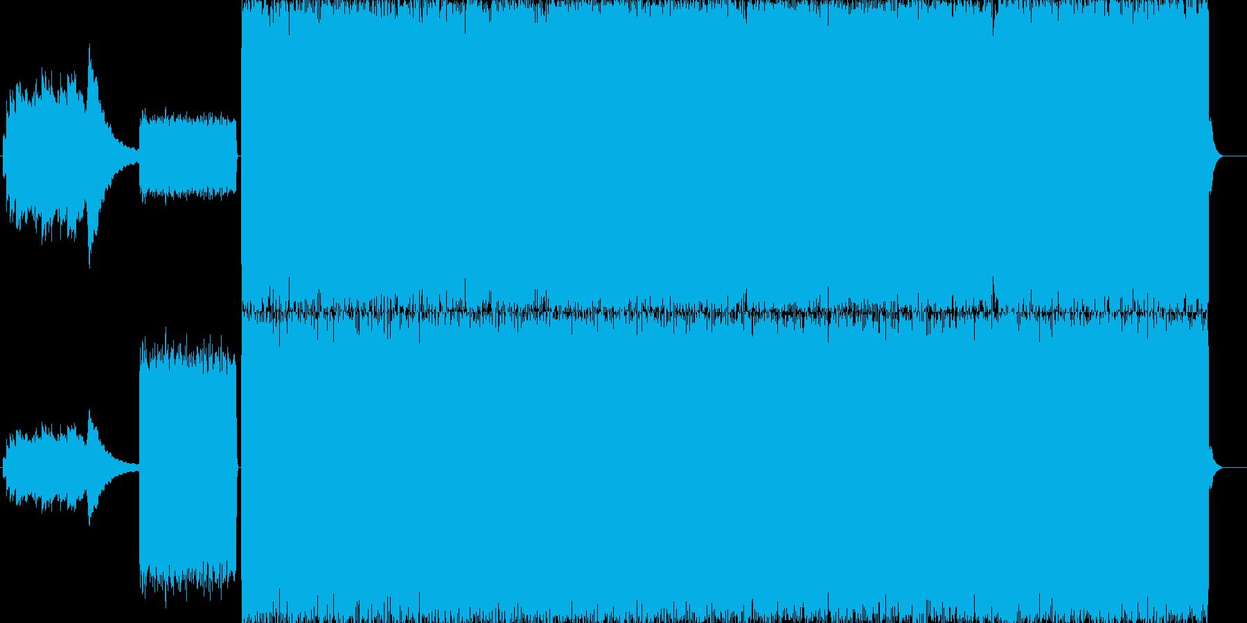 スケートのCMに使える疾走バンドサウンドの再生済みの波形