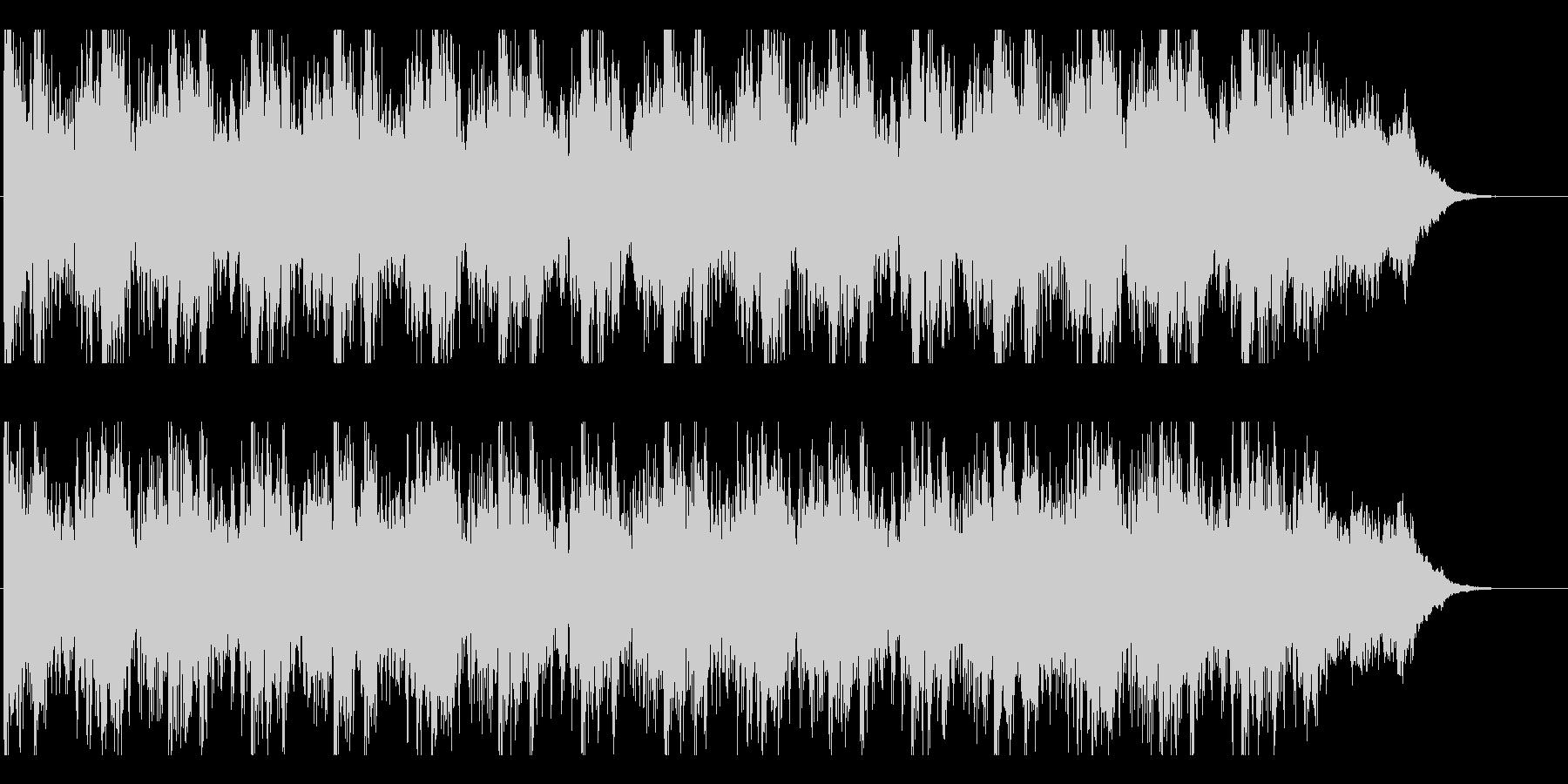 サウンドトラック-決戦-の未再生の波形