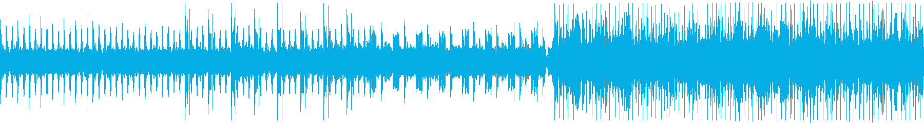 エレクトロニックファンク風?ループ可の再生済みの波形