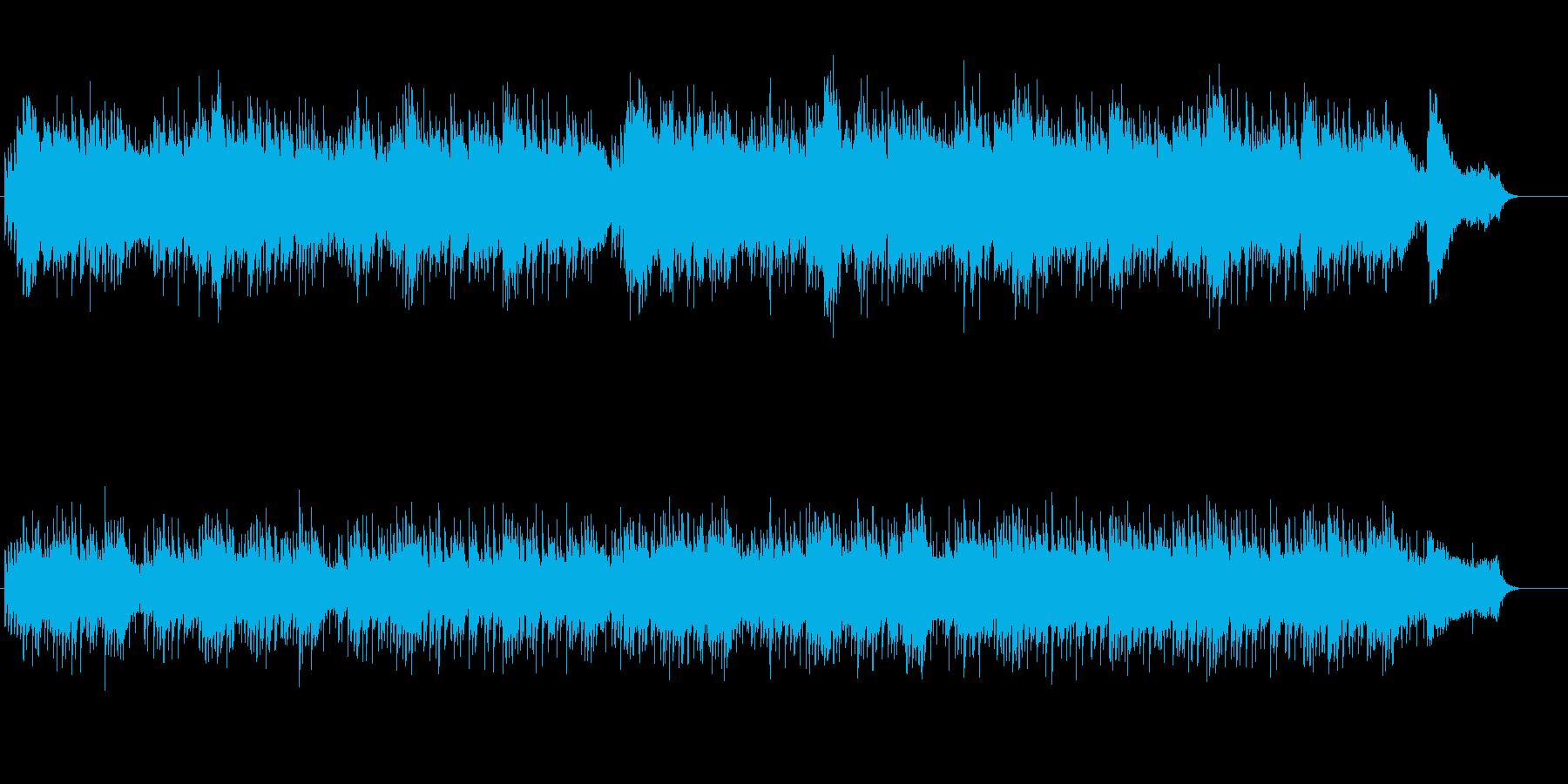 スウィートでウォームなバラードの再生済みの波形
