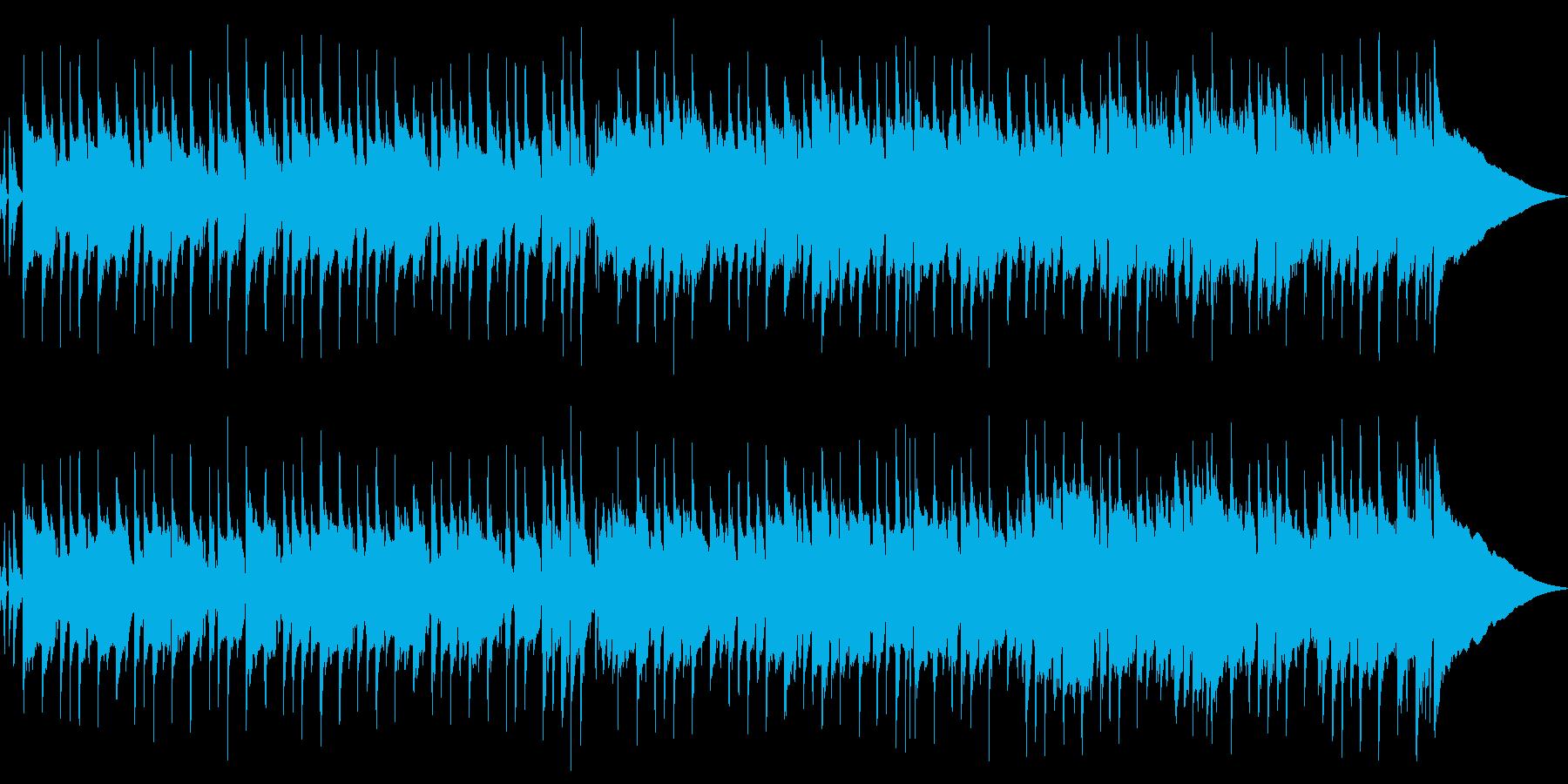 ストリングメロが印象的なポップジングルの再生済みの波形