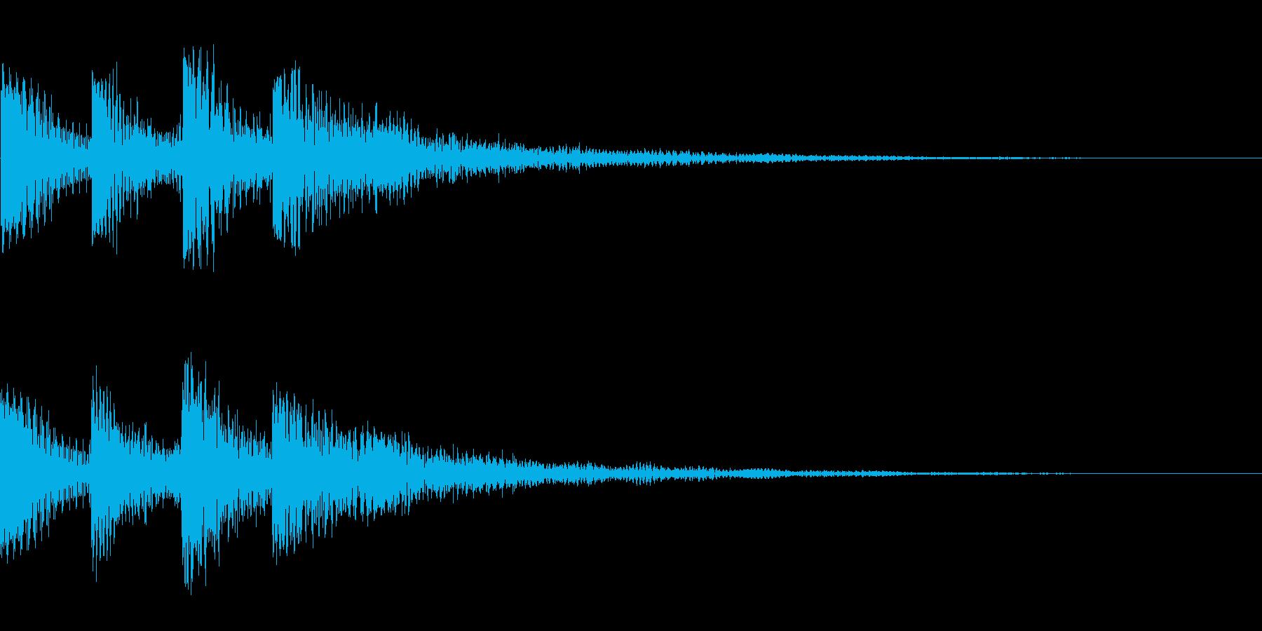 ドゥワーン(クリック_選択開始_01)の再生済みの波形