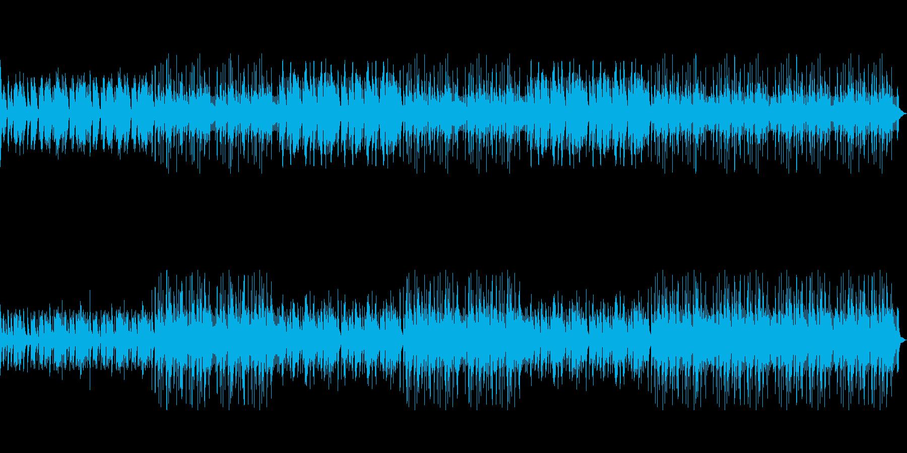 大河時代劇風BGMの再生済みの波形