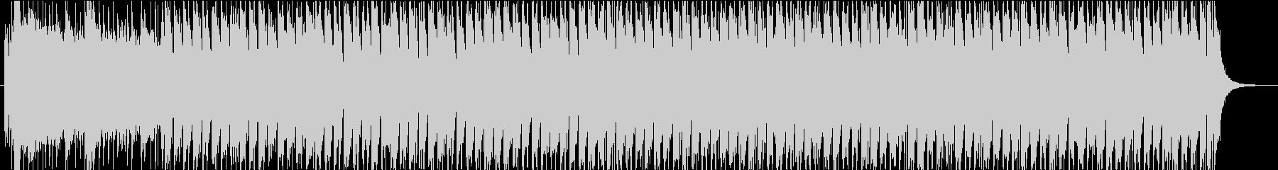 【オープニング】生楽器中心の明るいマーチの未再生の波形