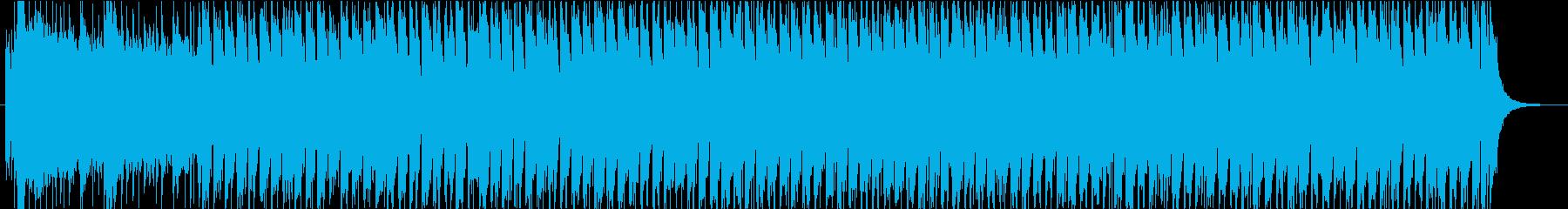 【オープニング】生楽器中心の明るいマーチの再生済みの波形